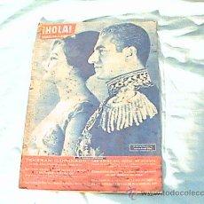 Coleccionismo de Revista Hola: REVISTA HOLA - AÑO 1960- EL SHA DE PERSIA Y SU ESPOSA FARAH DIBA.. Lote 26159927