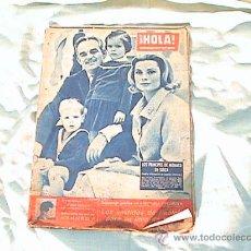 Coleccionismo de Revista Hola: REVISTA HOLA - AÑO 1960- LOS PRINCIPES DE MONACO EN SUIZA.. Lote 26159933