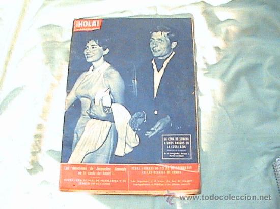 REVISTA HOLA - AÑO 1962- EN PORTADA, SORAYA Y SACHS VON OPEL. (Coleccionismo - Revistas y Periódicos Modernos (a partir de 1.940) - Revista Hola)