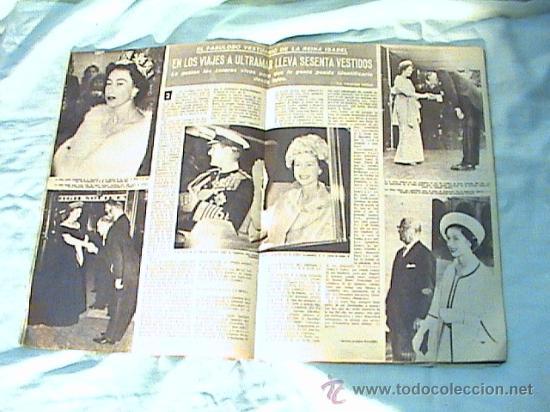 Coleccionismo de Revista Hola: REVISTA HOLA - AÑO 1962- EN PORTADA, SORAYA Y SACHS VON OPEL. - Foto 2 - 105351720