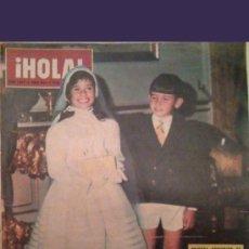 Coleccionismo de Revista Hola: ¡HOLA! REVISTA 1ª COMUNIÒN DE Mª DEL MAR MARTINEZ-BORDIU, Nº 1032. Lote 27086422