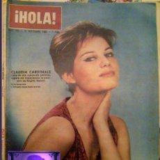 Coleccionismo de Revista Hola: ¡HOLA! REVISTA CLAUDIA CARDINALE EN PORTADA 1963 Nº 995. Lote 26799736