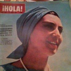 Coleccionismo de Revista Hola: ¡HOLA! 1034 CON ROSSANNA SCHIAFFINNO EN PORTADA 1964. Lote 98130047