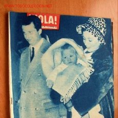 Coleccionismo de Revista Hola: HOLA Nº 849 - 3 AL 9 DICIEMBRE - EN PORTADA LA PRINCESA PAOLA DE BÉLGICA CON SU PRIMOGÉNITO. Lote 17126950