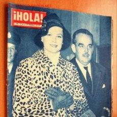Coleccionismo de Revista Hola: HOLA Nº 796 - DEL 12 AL 19 DE DICIEMBRE 1959 - LOS PRINCIPES DE MONACO EN LONDRES. Lote 141531364