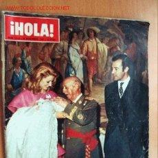 Coleccionismo de Revista Hola: HOLA 30 DICIEMBRE 1972 - BAUTIZO HIJO PRIMOGÉNITO DE LSO DUQUES DE CÁDIZ Y BISNIETO JEFE DEL ESTADO. Lote 15351382