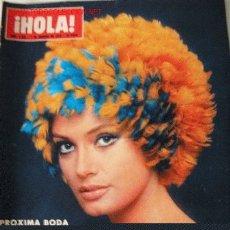 Coleccionismo de Revista Hola: REVISTA ¡HOLA! 7 FEBRERO 1970 - KARINA - MARISA MELL - BALDUINO Y FABIOLA EN LA INDIA - . Lote 26495830