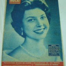 Coleccionismo de Revista Hola: REVISTA HOLA Nº 887 -26 AGOSTO AL 1 SEPTIEMBRE DE 1961-PRINCESA DESIREE DE SUECIA. Lote 26898377