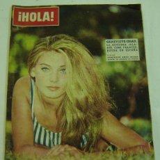 Coleccionismo de Revista Hola: REVISTA HOLA Nº 990 -17 AGOSTO 1963-GENEVIEVE GRAD. Lote 11778010