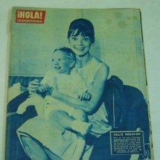 Coleccionismo de Revista Hola: REVISTA HOLA Nº 890 - 16 AL 22 SEPTIEMBRE 1961 -AUDREY HEPBURN. Lote 27097802