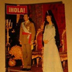 Coleccionismo de Revista Hola: REVISTA HOLA Nº 1632 6 DICIEMBRE 1975 HOMENAJE A LOS REYES DE ESPAÑA. Lote 27429387