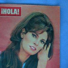 Coleccionismo de Revista Hola: REVISTA HOLA Nº 1141 PORTADA RAQUEL WELCH. Lote 13034286