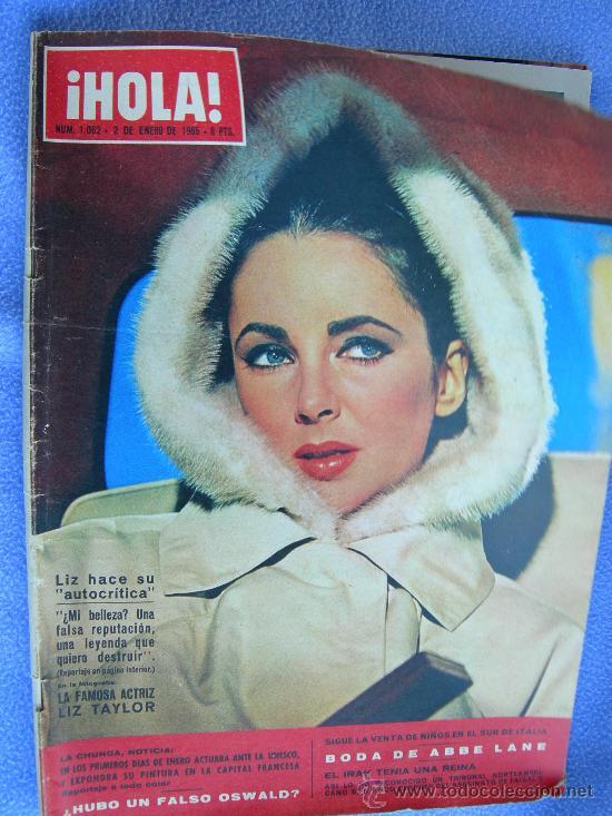 REVISTA HOLA. LOTE DE 6 REVISTAS DISTINTAS (Coleccionismo - Revistas y Periódicos Modernos (a partir de 1.940) - Revista Hola)