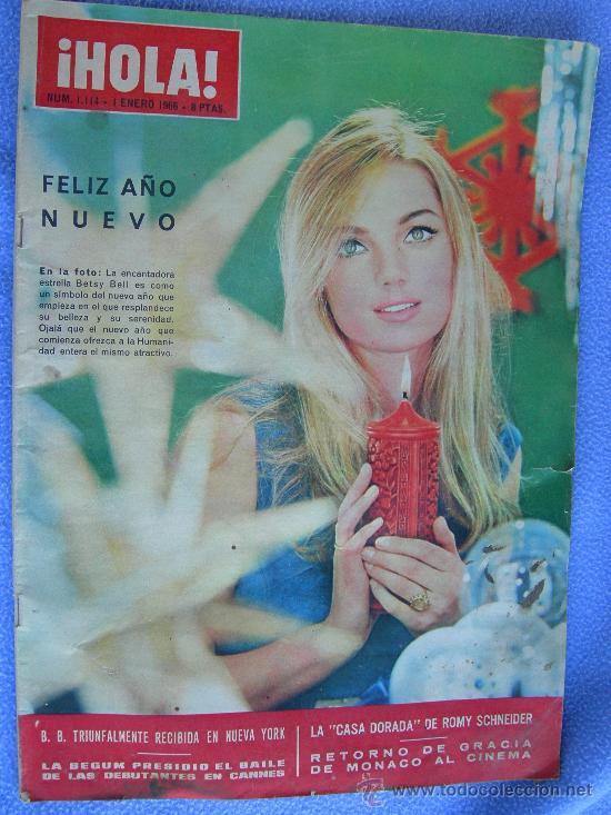 Coleccionismo de Revista Hola: REVISTA HOLA. LOTE DE 6 REVISTAS DISTINTAS - Foto 5 - 13152184