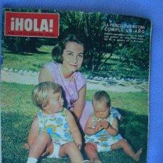 Coleccionismo de Revista Hola: REVISTA HOLA. LOTE DE 6 REVISTAS DISTINTAS. AÑOS 60. Lote 13152997