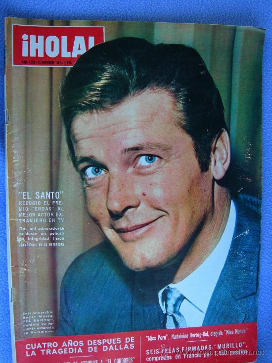 Coleccionismo de Revista Hola: REVISTA HOLA. LOTE DE 6 REVISTAS DISTINTAS. AÑOS 60 - Foto 3 - 13152997