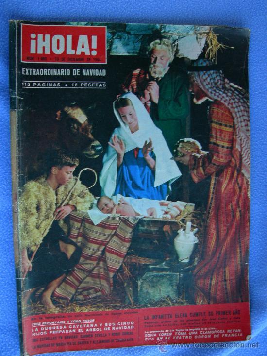 Coleccionismo de Revista Hola: REVISTA HOLA. LOTE DE 6 REVISTAS DISTINTAS. AÑOS 60 - Foto 5 - 13152997