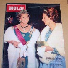 Coleccionismo de Revista Hola: REVISTA HOLA FEBRERO 1968 / LA RAINA FABIOLA,EL PAPA CON LOS BARRENDEROS.. Lote 20379887