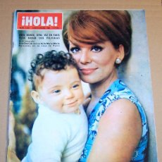 Coleccionismo de Revista Hola: REVISTA HOLA NOVIEMBRE 1968 / IRINA DEMICK,BEATRIZ DE HOLAND ESPERA UN BEBE.. Lote 20379889