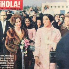 Coleccionismo de Revista Hola: HOLA -NOVIEMBRE1964 Nº 1057-SOLO ORIGINALES,DESDE TENERIFE,ESTA REVISTA Y MAS EN RASTRILLOPORTOBELLO. Lote 26822946