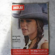 Coleccionismo de Revista Hola: HOLA REVISTA Nº 1408 DEL 21-08-1971,PORTADA MARISOL EN MARBELLA. Lote 20571203