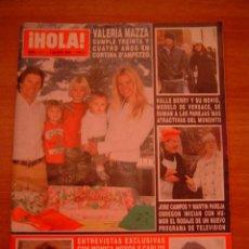 Coleccionismo de Revista Hola: REVISTA HOLA -Nº 3213 -1 MARZO 2006. Lote 17356694