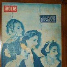 Coleccionismo de Revista Hola: REVISTA HOLA Nº 537 DICIEMBRE 1954. Lote 24605033