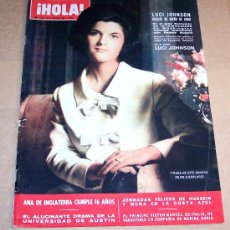 Coleccionismo de Revista Hola: REVISTA HOLA / AGOSTO 1966 / ANA DE INGLATERRA.. Lote 18310956