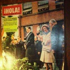Coleccionismo de Revista Hola: HOLA : AÑO 1964 N 1015, REPORTAJE A WILLAIM HOLDEN, REPORTAJE A AGNES SPAAK. Lote 22065829