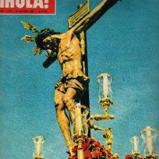 Coleccionismo de Revista Hola: HOLA MARZO DE 1967,SEMANA SANTA EN JERUSALEN.. Lote 24851308