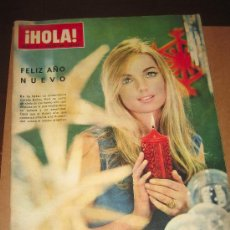 Coleccionismo de Revista Hola: HOLA ENERO 1966 - BRIGITTE BARDOT EN NY. EN EL INTERIOR . Lote 19907177