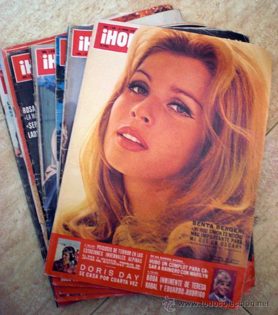 LOTE REVISTA HOLA 1976 (7 NUMEROS) (Coleccionismo - Revistas y Periódicos Modernos (a partir de 1.940) - Revista Hola)