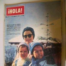 Coleccionismo de Revista Hola: REVISTA HOLA Nº 967 AÑO 1963. Lote 20553901
