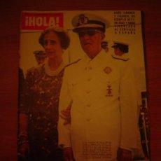 Coleccionismo de Revista Hola: REVISTA HOLA -Nº 1631 .29 DE NOVIEMBRE DE 1975. Lote 21695574