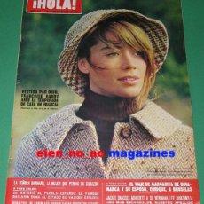 Coleccionismo de Revista Hola: HOLA 1314/1969~FRANCOISE HARDY~CATHERINE DENEUVE~KARIM AGHA KAM~JUAN CARLOS Y SOFIA~SALOME BODA. Lote 26148917