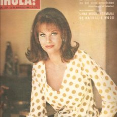 Collectionnisme de Magazine Hola: REVISTA ¡ HOLA ! Nº 1.134 MAYO DE 1966. Lote 22344858