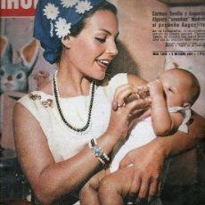 Coleccionismo de Revista Hola: REVISTA ¡ HOLA ! Nº 1.049 OCTUBRE 1964 , CARMEN SEVILLA EN PORTADA. Lote 22666148