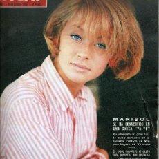 Coleccionismo de Revista Hola: REVISTA ¡ HOLA ! Nº 1.102 OCTUBRE 1965 , MASIEL EN PORTADA . Lote 22855546