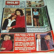 Coleccionismo de Revista Hola: HOLA - REVISTA DE 25/08/1994-Nº 2611- MICHAEL JACKSON-FOTOS DE LA BODA CON LA HIJA DE ELVIS PRESLEY. Lote 23523086