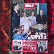 Coleccionismo de Revista Hola: HOLA-Nº3.208-25 ENERO 2006-132 PAGINAS-PENELOPE CRUZ-NICOLE KIDMAN-MARIA JOSE SUAREZ-. Lote 23913955