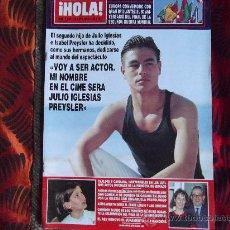 Coleccionismo de Revista Hola: HOLA-Nº2649-18 MAYO 1995-164 PAGINAS-CLAUDIA SCHIFFER-LUKE PERRY-CAROLINA-FRAN RIVERA-ETC.... Lote 23914093