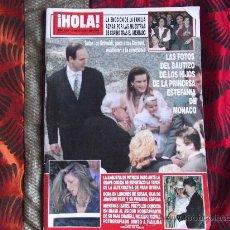 Coleccionismo de Revista Hola: HOLA-Nº2.647-4 MAYO 1995-172 PAGINAS-ENRIQUE IGLESIAS-PALOMA SAN BASILIO-SERRAT-CARMINA ORDOÑEZ ETC.. Lote 34708355