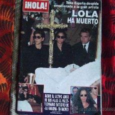Coleccionismo de Revista Hola: HOLA-Nº2.650-25 MAYO 1995-164 PAGINAS-LA DUQUESA DE ALBA-RAPHAEL-ETC.... Lote 23914540