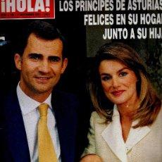 Coleccionismo de Revista Hola: REVISTA ¡HOLA! Nº 3.198 - 17 NOVIEMBRE 2005 · PORTADA: LOS PRÍNCIPES DE ASTURIAS Y LA INFANTA LEONOR. Lote 43861471