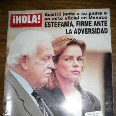 Coleccionismo de Revista Hola: REVISTA HOLA NÚM.2721 3 OCTUBRE 1996. Lote 27462450