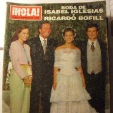 Coleccionismo de Revista Hola: REVISTA HOLA Nº 2.563, 23 SEPTIEMBRE DE 1.993. Lote 24877589