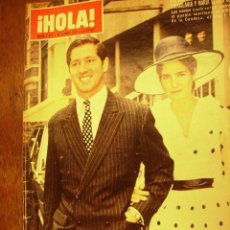 Collezionismo di Rivista Hola: HOLA - N1.451 -1972 - PRINCIPE ALEJANDRO DE YUGOSLAVI Y MARIA GLORIA DE BRASIL. Lote 25090458