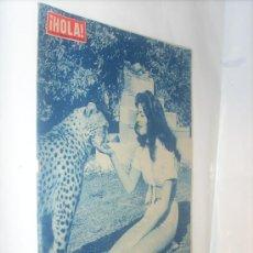 Coleccionismo de Revista Hola: ¡ HOLA ! NÚMERO 734 DEL 20 SEPTIEMBRE 1.958 / SANDRA EDWARDS - MARGARITA DE DINAMARCA. Lote 27289513