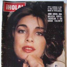 Coleccionismo de Revista Hola: ¡HOLA! DE 05/11/77 - ANNE ARCHER - JOSEP TARRADELLAS, GRAN RECIBIMIENTO EN CATALUÑA - BURT LANCASTER. Lote 26419058
