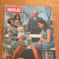 Coleccionismo de Revista Hola: HOLA ! ABRIL 1965 .. Lote 26539984